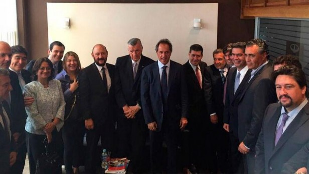 Scioli, y el apoyo de gobernadores K en Tucumán
