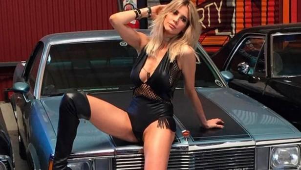 Guillermina Valdés, sexy y rockera