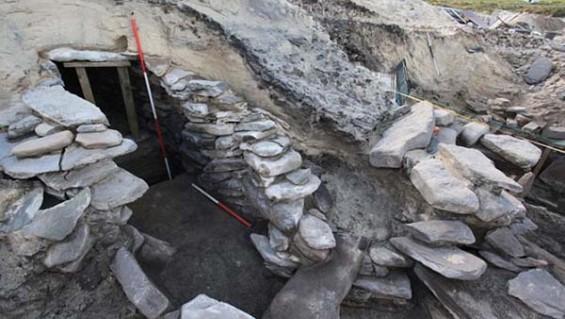 Encuentran un sauna de 4.000 años en Escocia