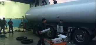 Secuestran 15 toneladas de marihuana en un camión cisterna