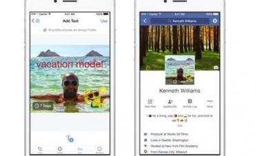 Facebook permitirá reemplazar tu foto de perfil por un video