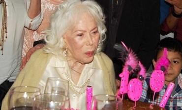 Falleció la actriz Elena Lucena