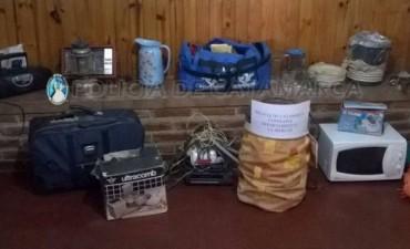 Recuperan  elementos  robados  y  aprehenden  a  dos  jóvenes  en  La Merced