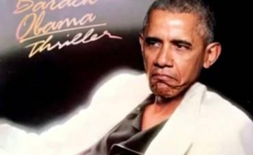 VIDEO: Barack Obama cantando Thriller es furor en la web