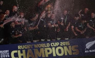 All Blacks campeones del Mundial de Rugby