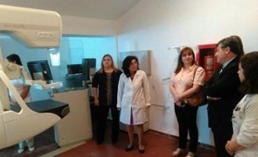 El Hospital San Juan Bautista puso en funcionamiento un Mamógrafo de última generación