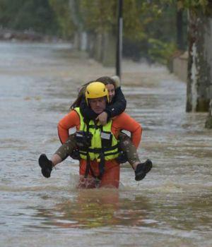 13 muertos por las inundaciones en Francia