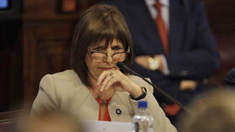 """Patricia Bullrich destacó que hubo una """"reducción de homicidios"""" en el país"""