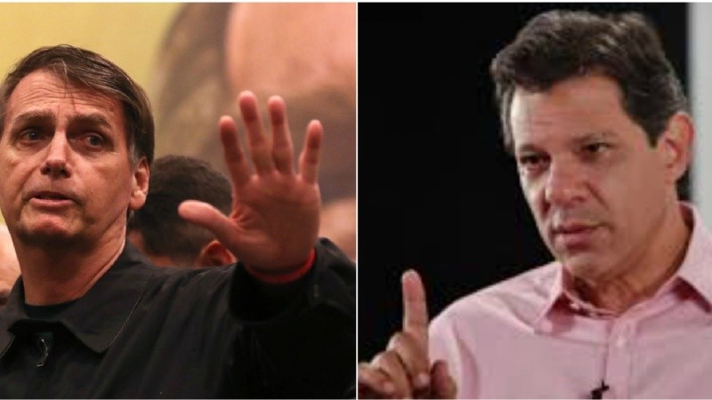 Haddad acusó a Bolsonaro de fomentar