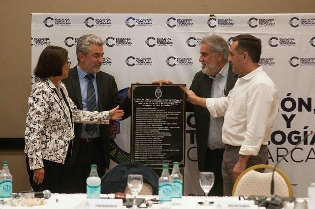 Corpacci participó de la Asamblea del Consejo Federal de Educación