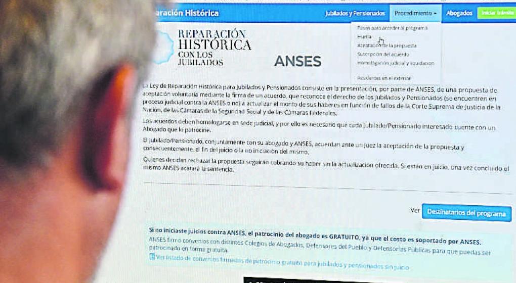 Reparación Histórica: con la firma del convenio se activará de nuevo el beneficio
