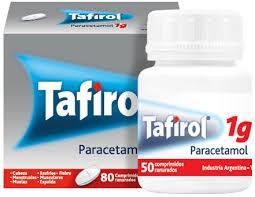 Prohibieron la venta y el uso de un lote de Tafirol en todo el país
