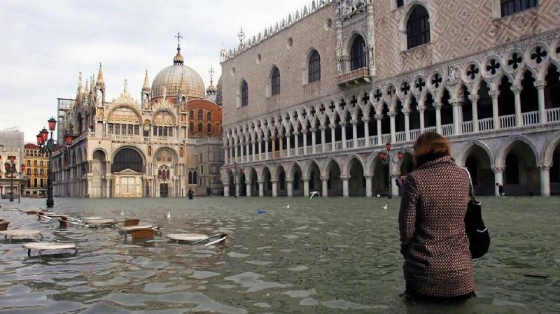 La peor inundación de Venecia en más de 10 años