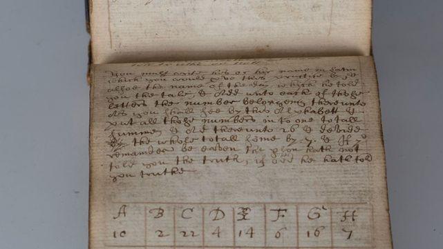 Subastan manuscrito mágico que hace que