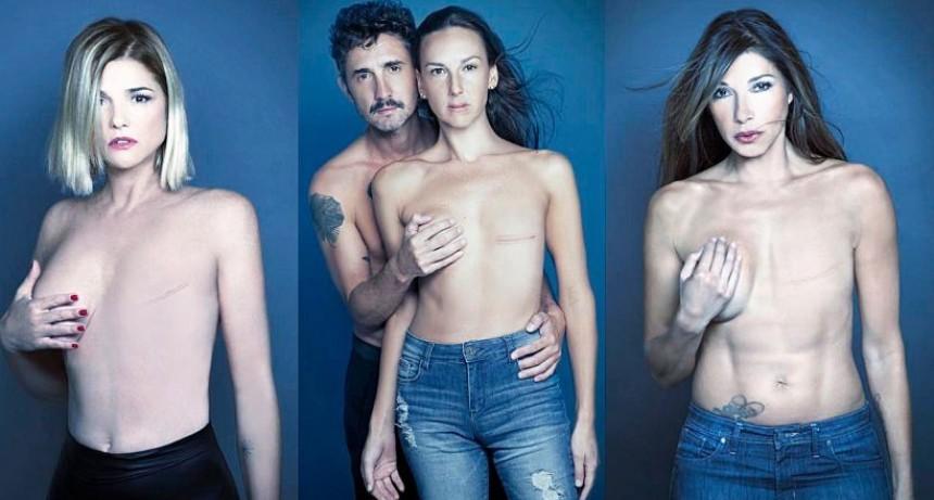 La provocativa campaña sobre el cáncer de mama