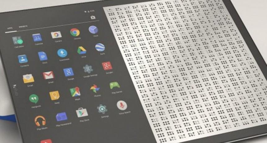 Una tablet que traduce al braille