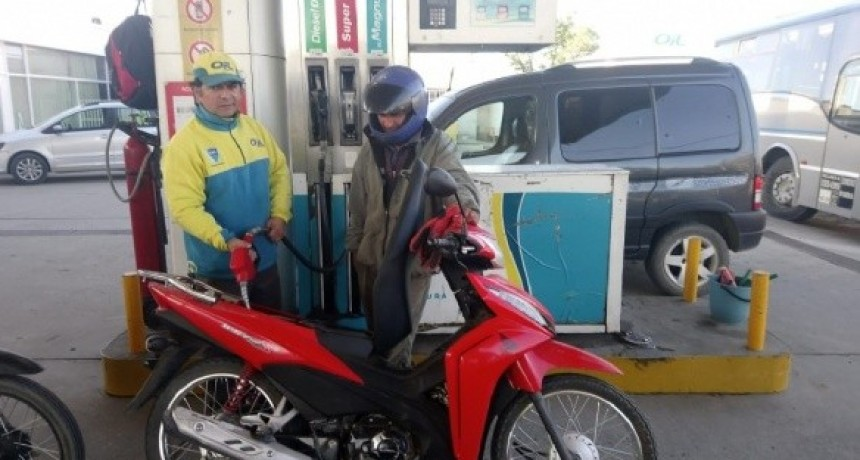 Sin casco, no se expenderá combustible a motociclistas en Santa María