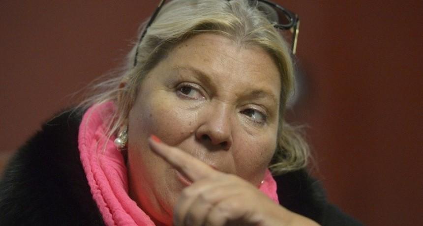 Carrió quiere juicio político para un ministro de Macri