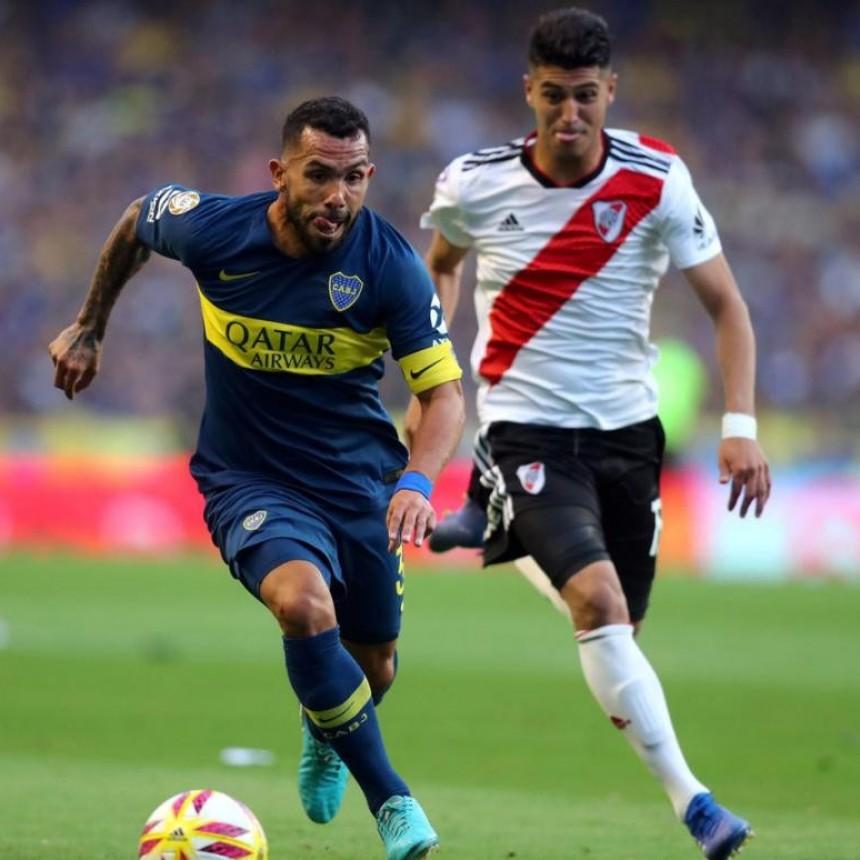 Ponzio y Tevez juegan un superclásico especial