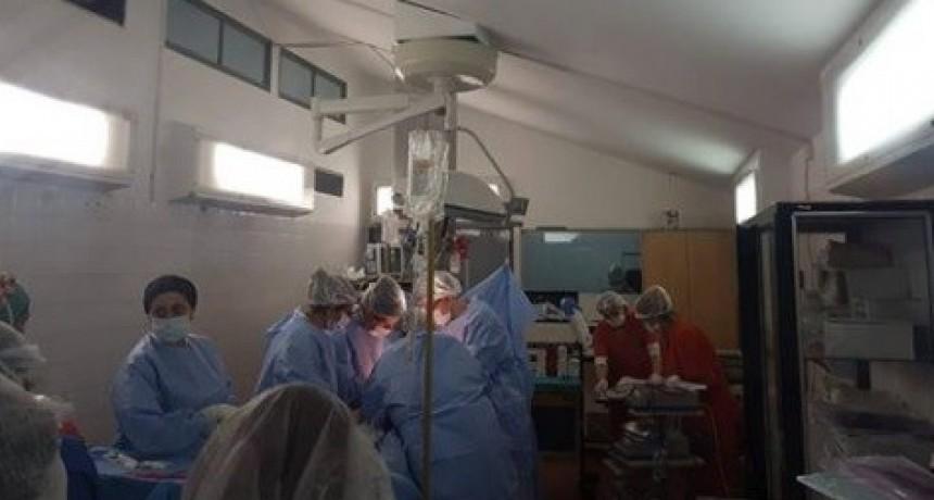 Efectúan otra ablación múltiple de órganos en el HSJB