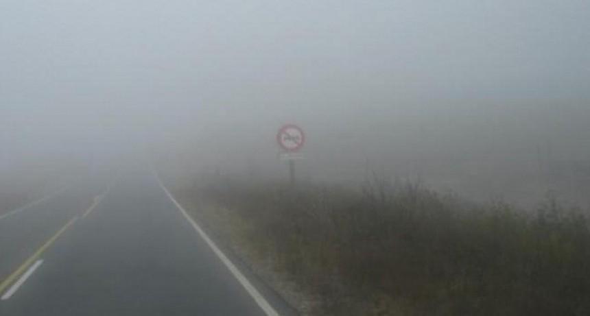 Sigue la advertencia por lluvia y niebla en el Totoral