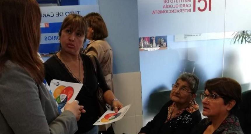 OSEP inició la campaña antiplus en sanatorios