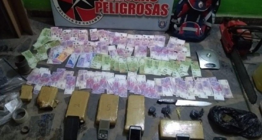 Secuestran 7 Kg. de marihuana en Valle Viejo