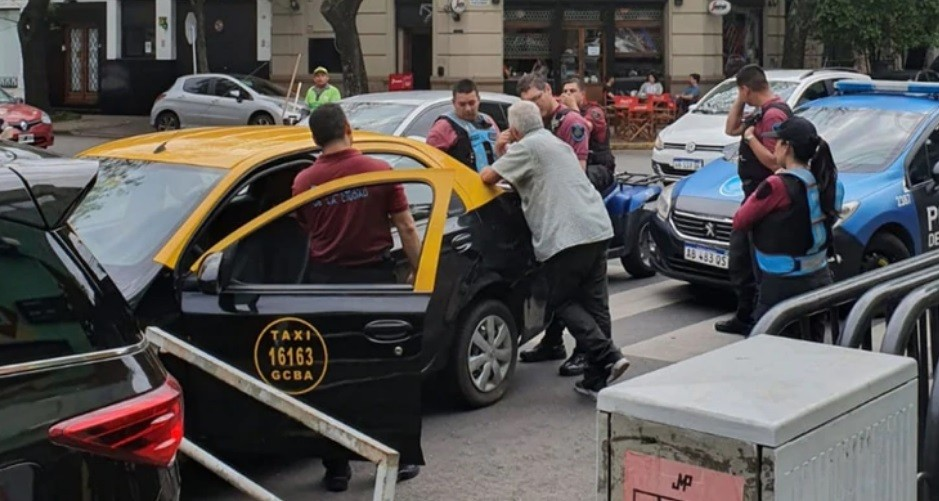 Un taxista amenazó y agredió a Baby Etchecopar: Te voy a matar