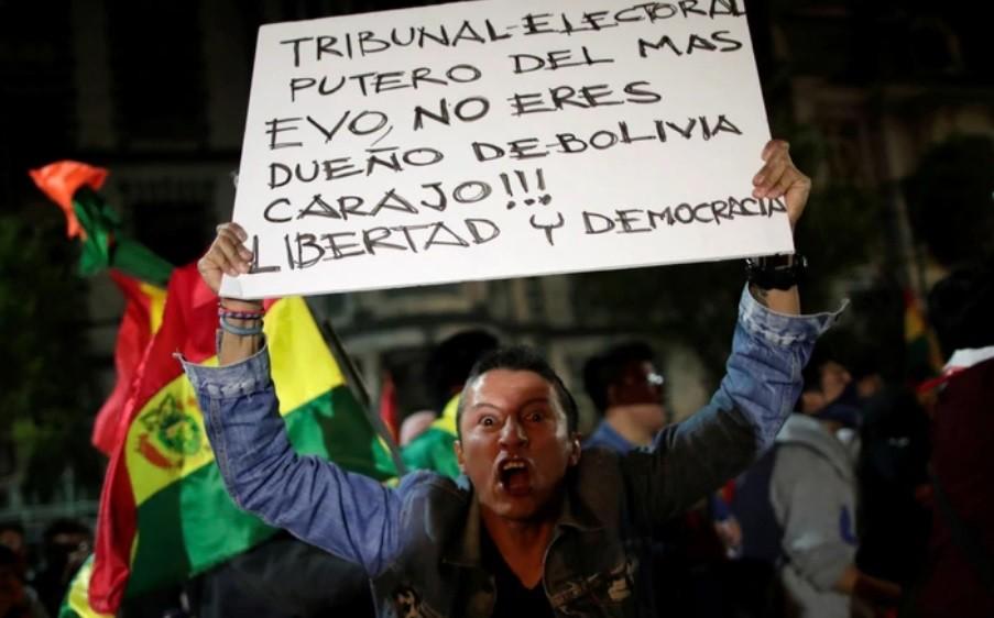 Bolivia:  Brutal agresión contra manifestantes en La Paz