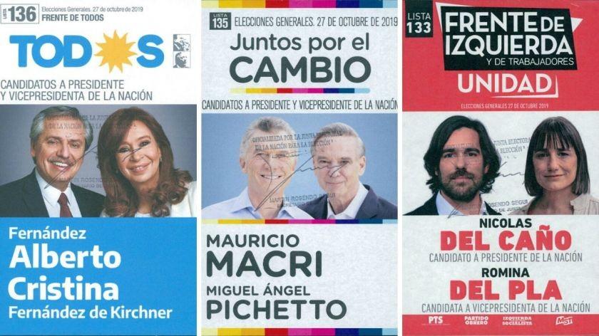 Cómo son las boletas para las elecciones del 27 de octubre y cómo evitar engaños