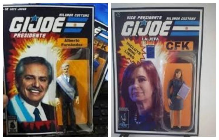 Salió a la venta el muñeco de Alberto Fernández presidente y es furor