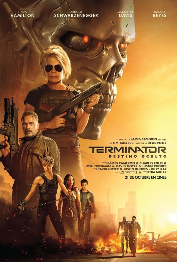 Con el regreso de una veterana Sarah Connor, llega Terminator: Destino oculto