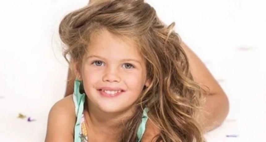 Francesca la hija de Wanda: Modelo a los cuatro años