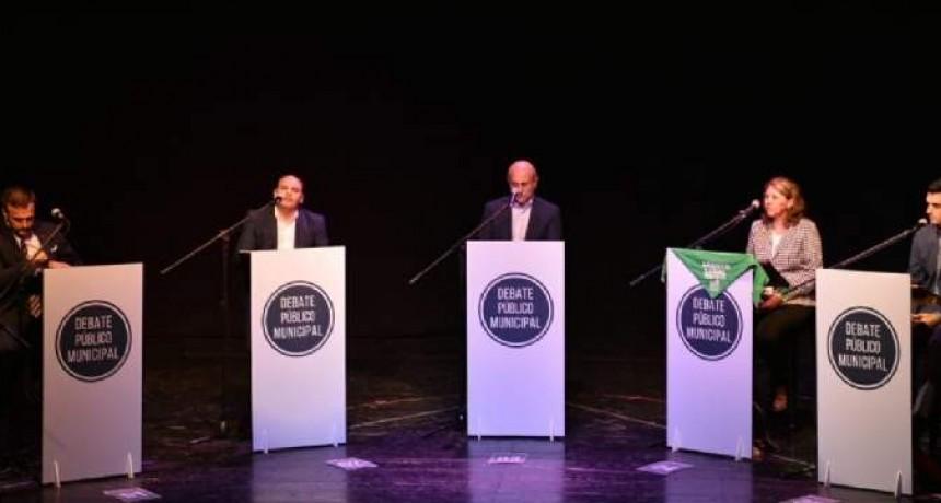 Inició el debate de los candidatos a intendentes de la Capital