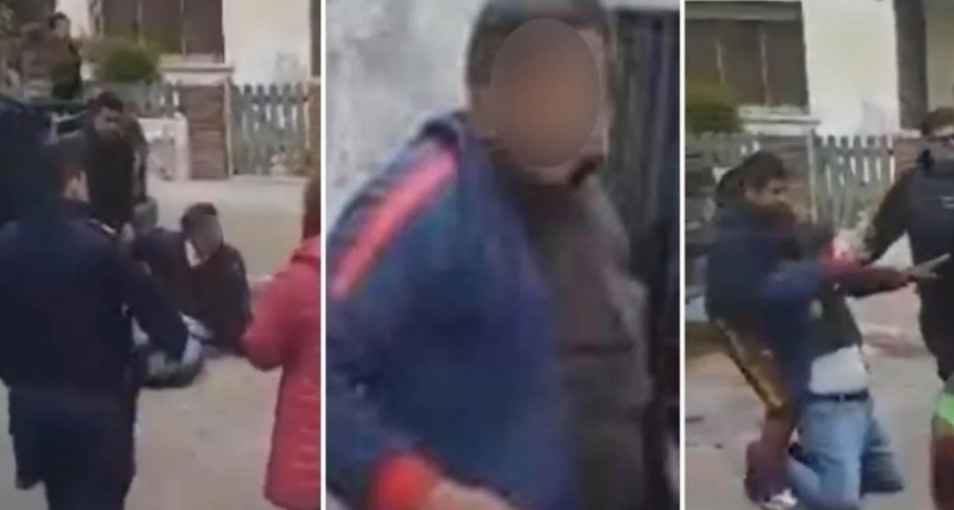Vecinos de Bella Vista atacaron a golpes a un hombre que se masturbó delante de una nena 4 años
