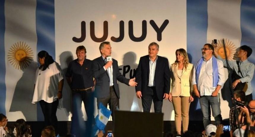 El Presidente, en la marcha SI SE PUEDE en Jujuy