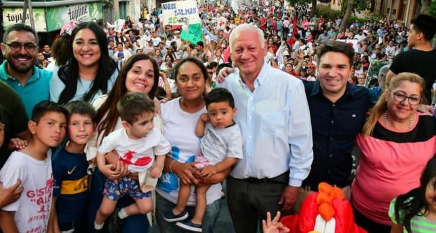 Gustavo Jalile cerró la Campaña con una importante Caravana