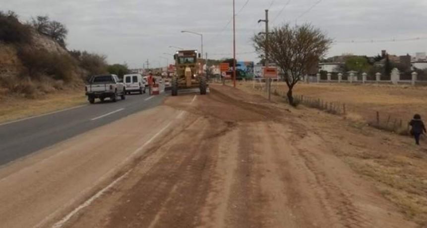Ruta 157: Reparación de calzada de Las Salinas hasta Frías