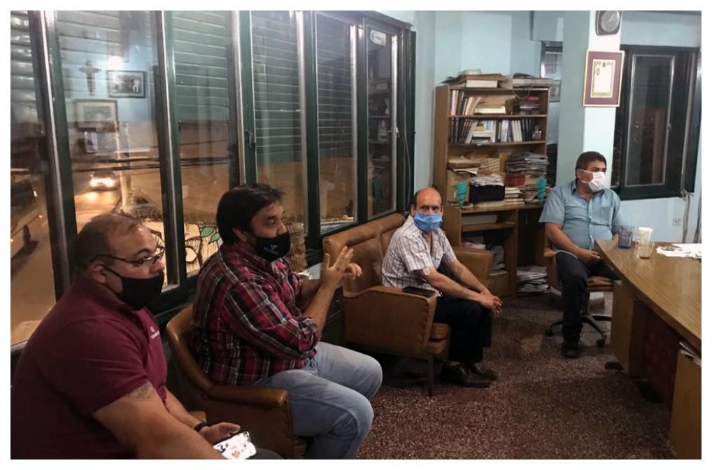 Mesa de Articulación con Representantes del sector Minero