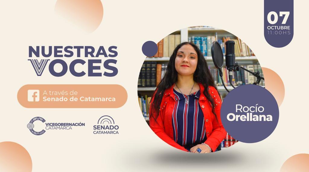 """Rocío Orellana en """"Nuestras Voces"""""""