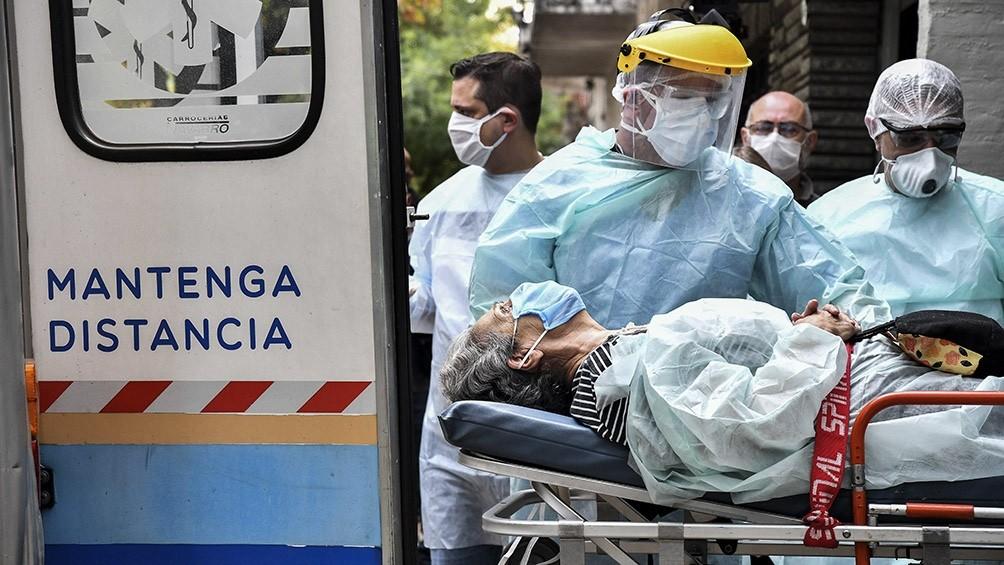 Se registraron 16.337 nuevos casos de COVID-19 en Argentina
