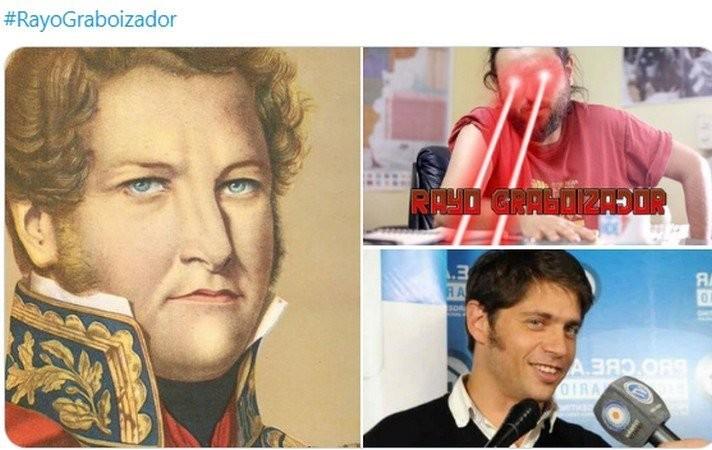 """El """"Rayo Graboizador"""" inundó Twitter de memes"""