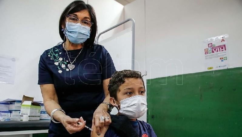 La Sociedad de Pediatría respaldó el inicio de la vacunación para niños de entre 3 a 11 años