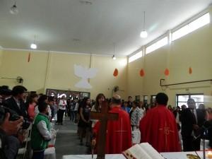 Chicos recibieron la Confirmación en la comunidad Santa Maravillas de Jesús