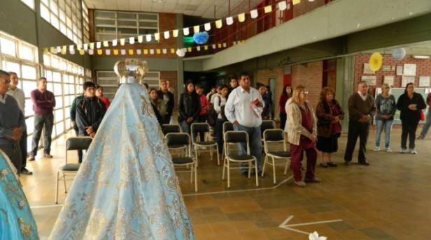 La Escuela de Formación Profesional N° 1 rinde homenaje a la Virgen del Valle
