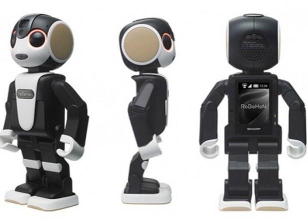 RoBoHon, el primer smartphone que habla y camina