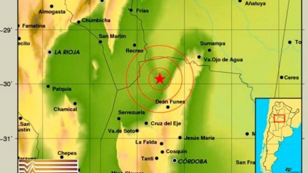 Córdoba tembló esta madrugada