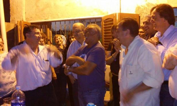 Miguel Del Sel recorrió la Capital junto al Concejal electo José Vega