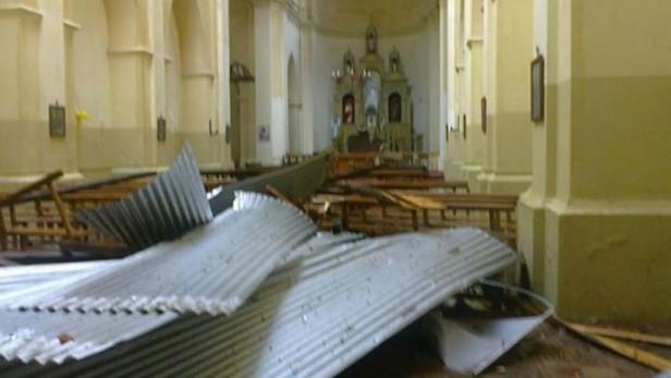 Fuerte tormenta azotó a Tránsito,el alerta tambien para el centro y este de Catamarca