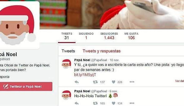 Twitter lanzó las cuentas oficiales de Papa Noel y los Reyes Magos